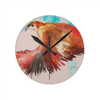 Birdman Round Clock