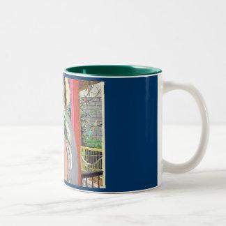 BIRDMAN Two-Tone COFFEE MUG