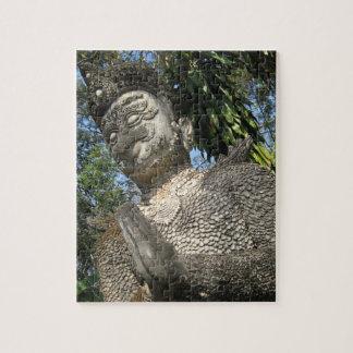 Birdman Wai ... Nong Khai, Isaan, Thailand Jigsaw Puzzle