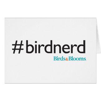 #BirdNerd Card