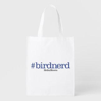 #birdnerd grocery bag