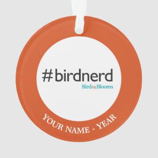 #BirdNerd Ornament