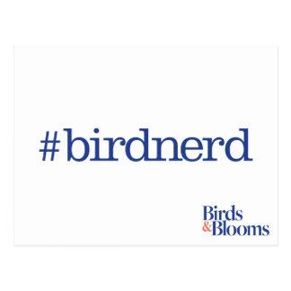 #birdnerd postcard
