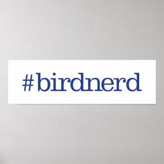 #birdnerd poster