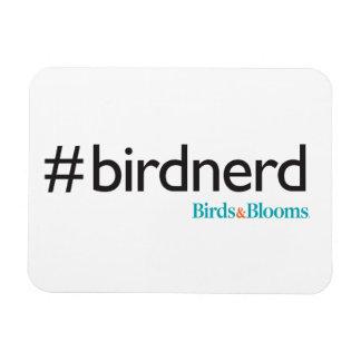 #BirdNerd Rectangular Photo Magnet