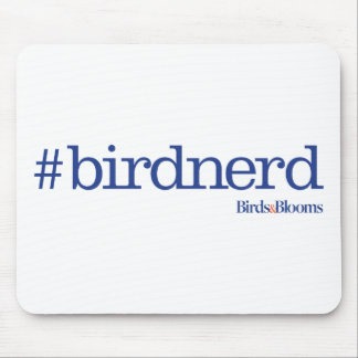 #birdnerd alfombrilla de ratón