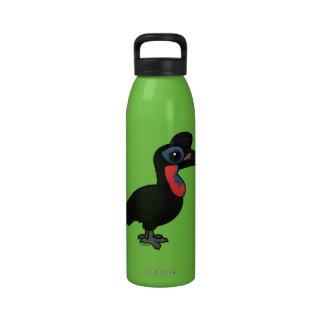Birdorable Abyssinian Ground Hornbill Drinking Bottle