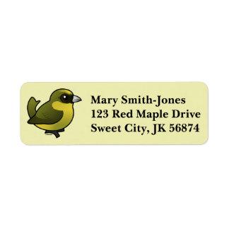 Birdorable Akekee Label