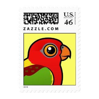 Birdorable Amarillo-apoyó el Lory