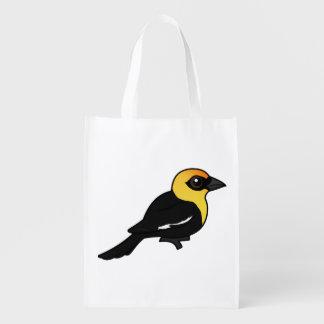 Birdorable Amarillo-dirigió el mirlo Bolsa De La Compra