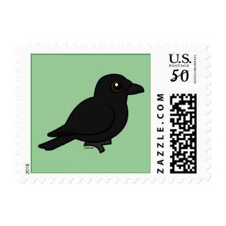Birdorable American Crow Postage