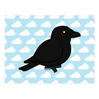 Birdorable American Crow Postcard