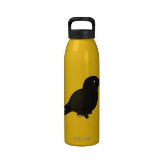 Birdorable American Crow Water Bottle