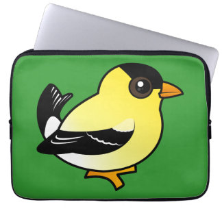 Birdorable American Goldfinch Laptop Sleeve