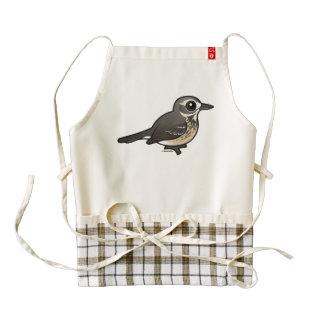Birdorable American Pipit Zazzle HEART Apron