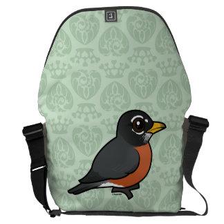Birdorable American Robin Courier Bags