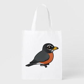 Birdorable American Robin Market Tote