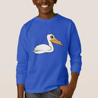 BIrdorable American White Pelican T-Shirt