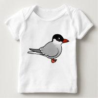 Arctic Tern Baby Fine Jersey T-Shirt