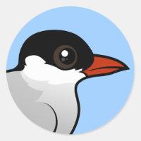 Arctic Tern Round Sticker