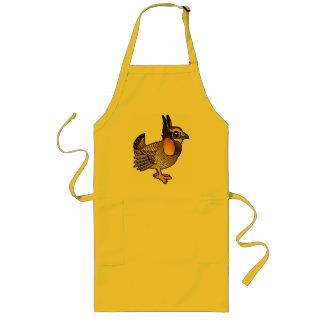 Birdorable Attwater's Prairie Chicken Long Apron