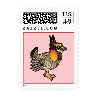 Birdorable Attwater's Prairie Chicken Stamps
