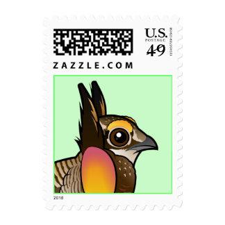 Birdorable Attwater's Prairie Chicken Postage Stamp