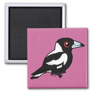 Birdorable Australian Magpie Magnets