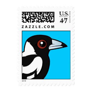 Birdorable Australian Magpie Postage