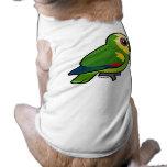 Birdorable Azul-afrontó el loro Camiseta De Mascota