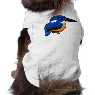 Birdorable Azure Kingfisher Doggie Shirt