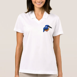 Birdorable Azure Kingfisher Polo Shirt