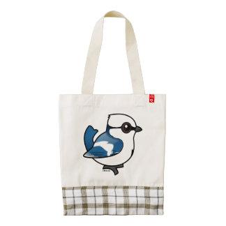 Birdorable Azure Tit Zazzle HEART Tote Bag