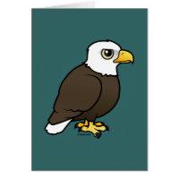 Adult Bald Eagle Greeting Card