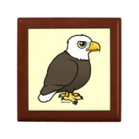 Adult Bald Eagle Small Gift Box 5.125