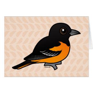 Birdorable Baltimore Oriole Cards