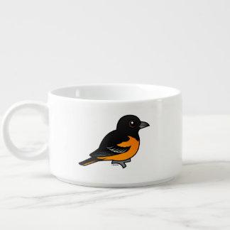 Birdorable Baltimore Oriole Chili Bowl