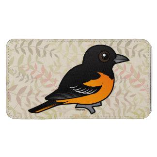 Birdorable Baltimore Oriole Galaxy S5 Pouch
