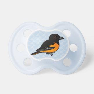 Birdorable Baltimore Oriole Baby Pacifier