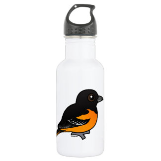 Birdorable Baltimore Oriole Water Bottle