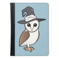 Barn Owl Witch iPad Air Folio Case by Ivoke
