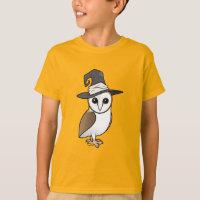 Barn Owl Witch Kids' Hanes TAGLESS® T-Shirt