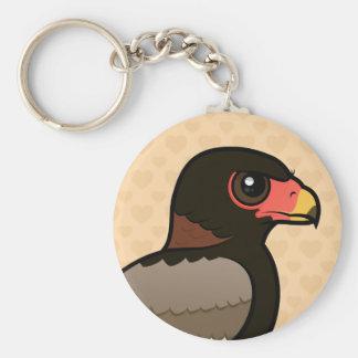 Birdorable Bateleur Llavero Redondo Tipo Pin