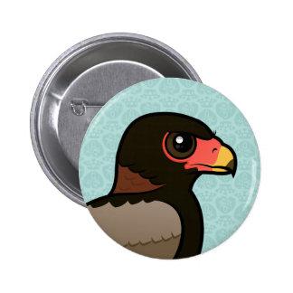 Birdorable Bateleur Pin