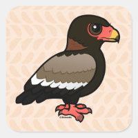 Bateleur Square Sticker