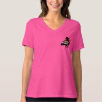 Bateleur Women's Bella Relaxed Fit Jersey V-Neck T-Shirt