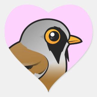Birdorable Bearded Reedling Heart Sticker