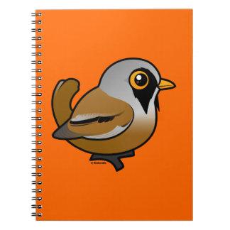 Birdorable Bearded Reedling Notebook