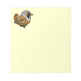 Birdorable Bearded Reedling Notepad