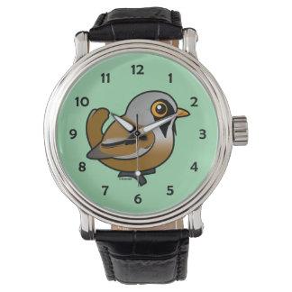 Birdorable Bearded Reedling Wrist Watch